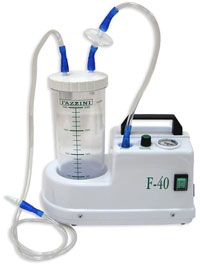 Отсасыватель медицинский FAZZINI F–40. Отсасыватель хирургический электрич